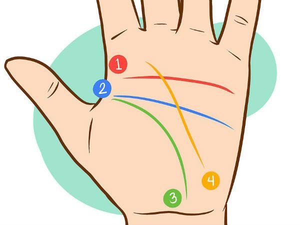 تعيين الخطوط على اليد ما هو وجود خط حياة مزدوج في راحة يدك